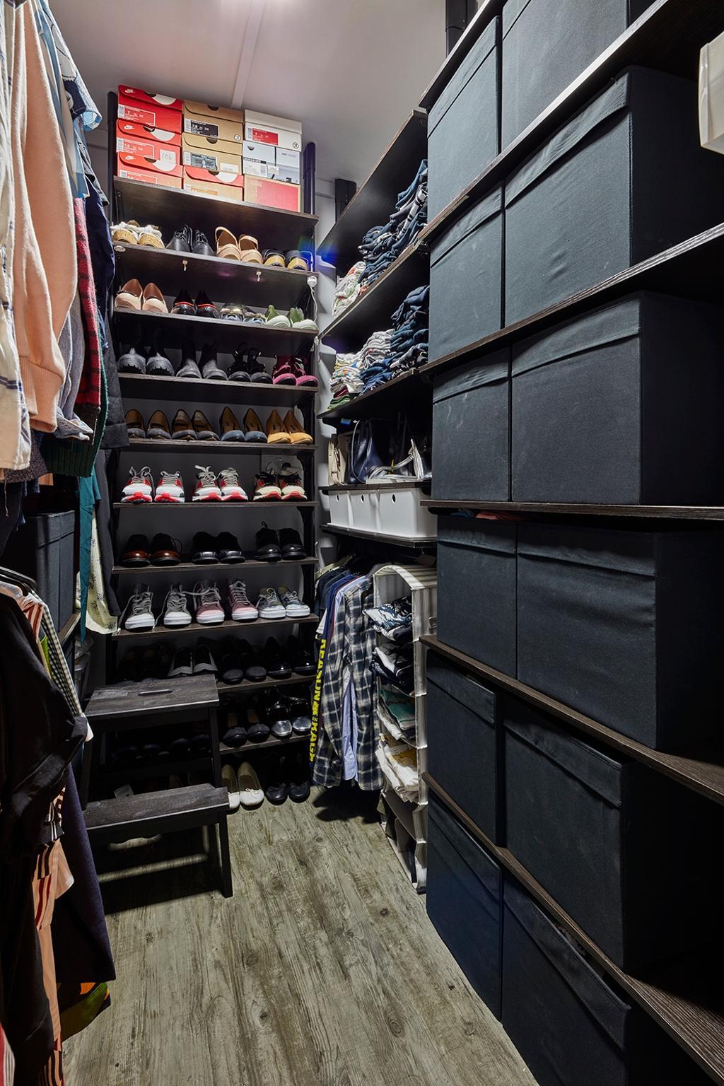 Industrial, HDB, Bedroom, Hougang Avenue 10, Interior Designer, Voila, Shop
