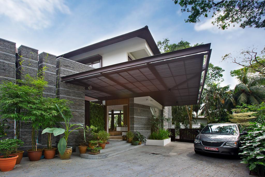 Transitional, Landed, Eng Neo Residence, Architect, GK Architects, Flora, Jar, Plant, Potted Plant, Pottery, Vase