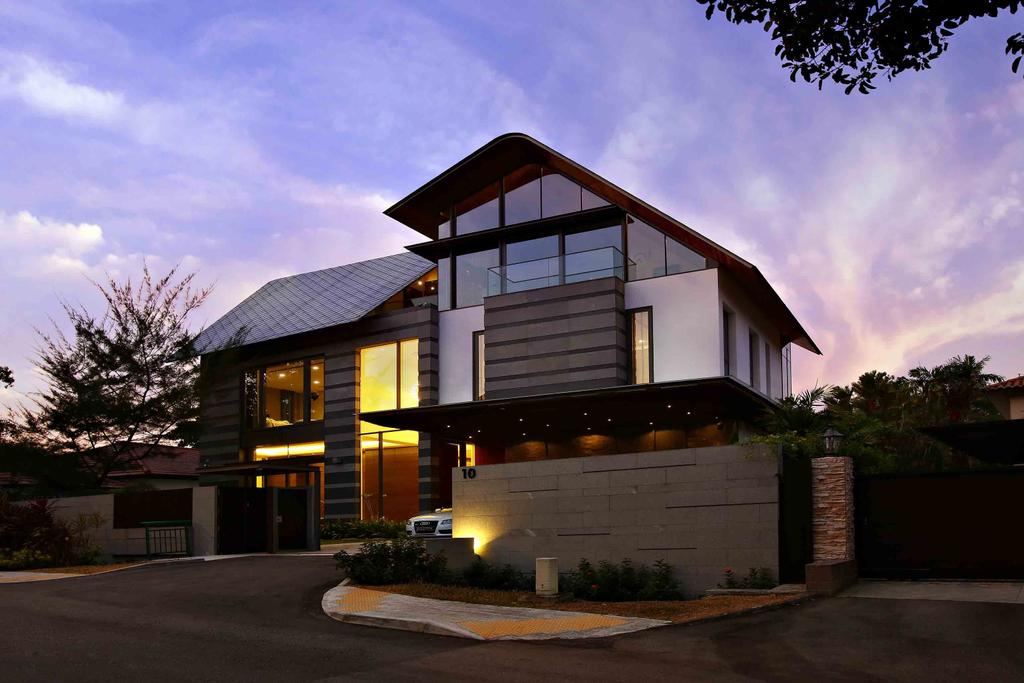Modern, Landed, Maryland Residence, Architect, GK Architects, Building, Cottage, House, Housing