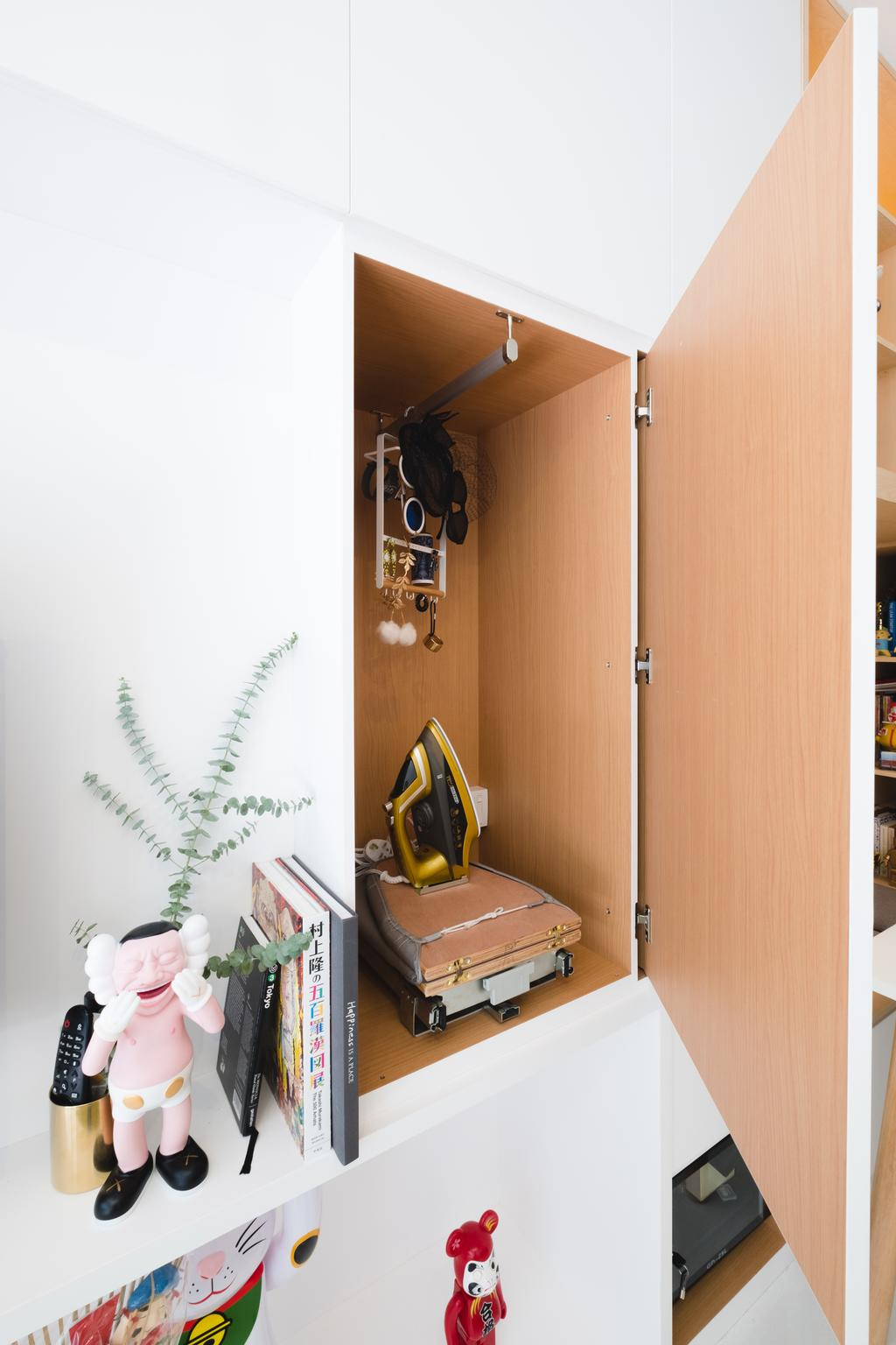 Minimalistic, Condo, Living Room, E Maison, Interior Designer, Lemonfridge Studio, Scandinavian