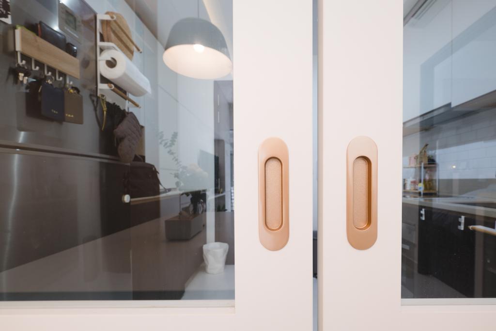 Minimalist, Condo, Kitchen, E Maison, Interior Designer, Lemonfridge Studio, Scandinavian, Indoors, Interior Design