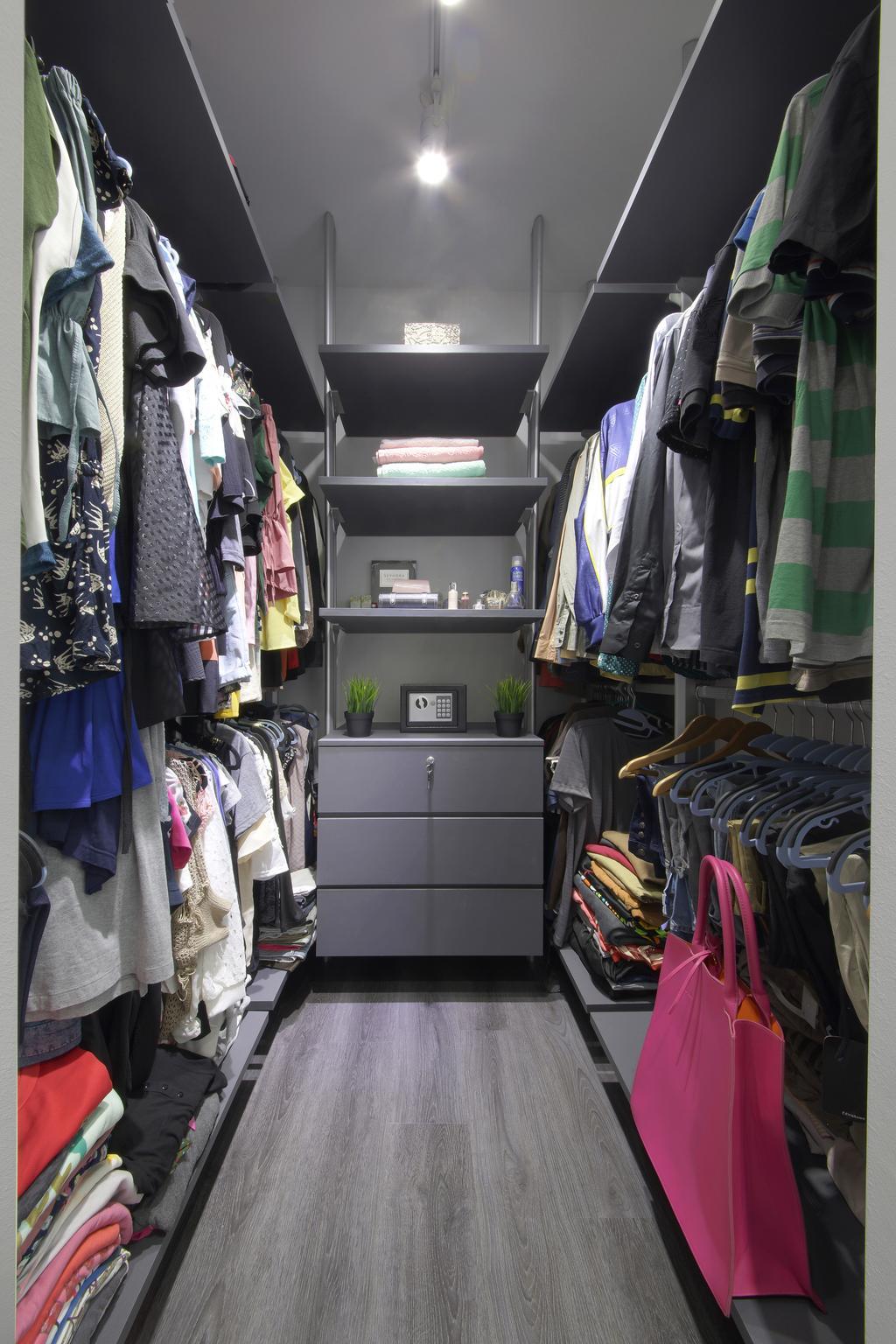 Scandinavian, HDB, Bedroom, Teban Gardens, Interior Designer, Dap Atelier, Industrial, Human, People, Person, Closet, Apparel, Clothing