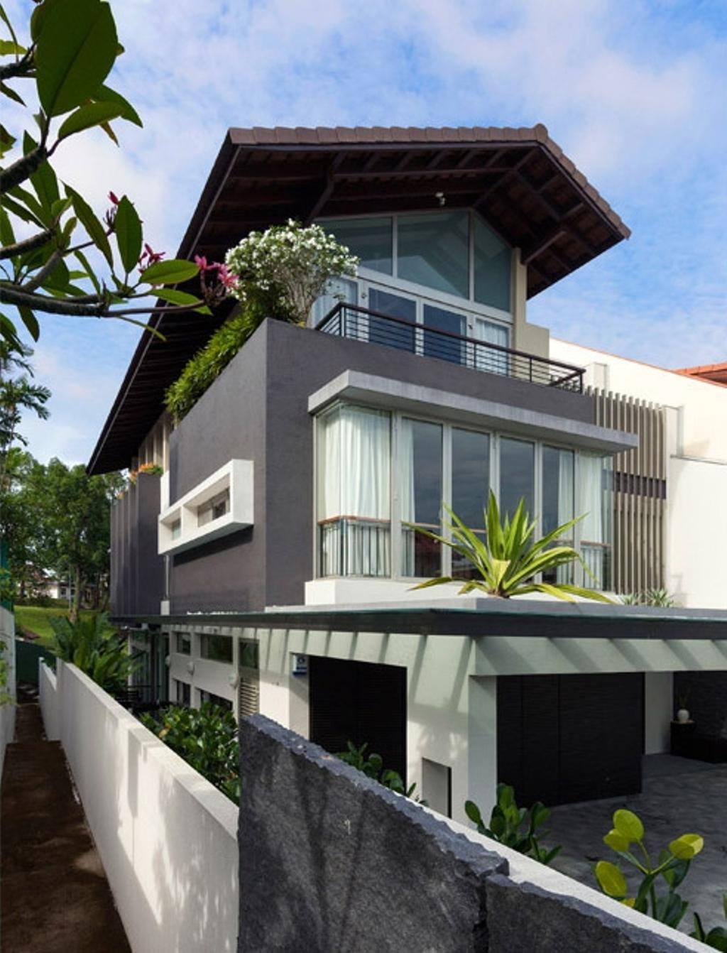 Transitional, Landed, Clementi Crescent, Architect, Timur Designs, Building, House, Housing, Villa, Flora, Jar, Plant, Potted Plant, Pottery, Vase