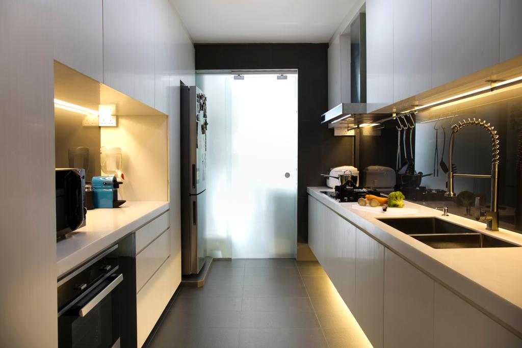 Scandinavian, HDB, Kitchen, Marsiling (Block 133), Interior Designer, The Roomakers, Appliance, Electrical Device, Oven, Indoors, Interior Design