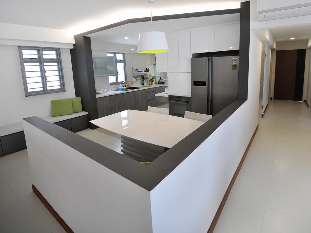 Modern, HDB, Punggol Walk (Block 272A), Interior Designer, The Roomakers, Architecture, Building, Skylight, Window, Indoors, Interior Design, Housing, Loft, Bathroom, Room