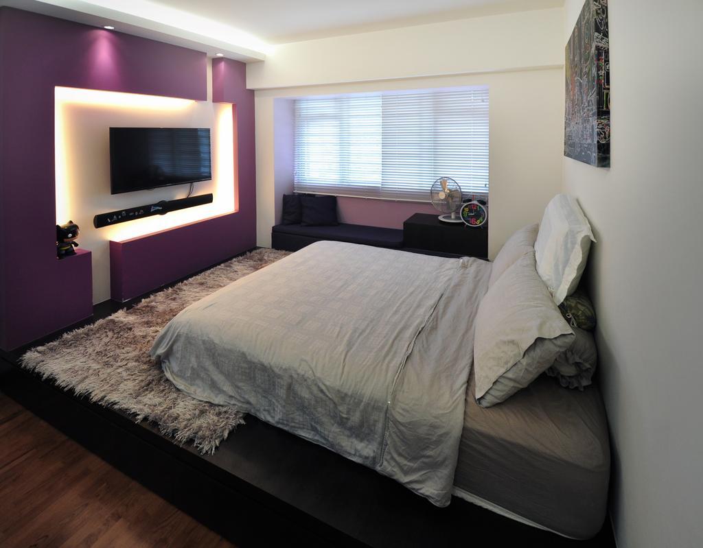 Modern, HDB, Bedroom, Punggol Walk (Block 272A), Interior Designer, The Roomakers
