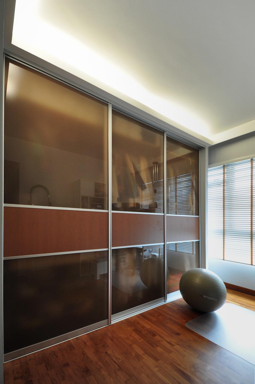 Modern, HDB, Bedroom, Punggol Walk (Block 272A), Interior Designer, The Roomakers, Door, Sliding Door