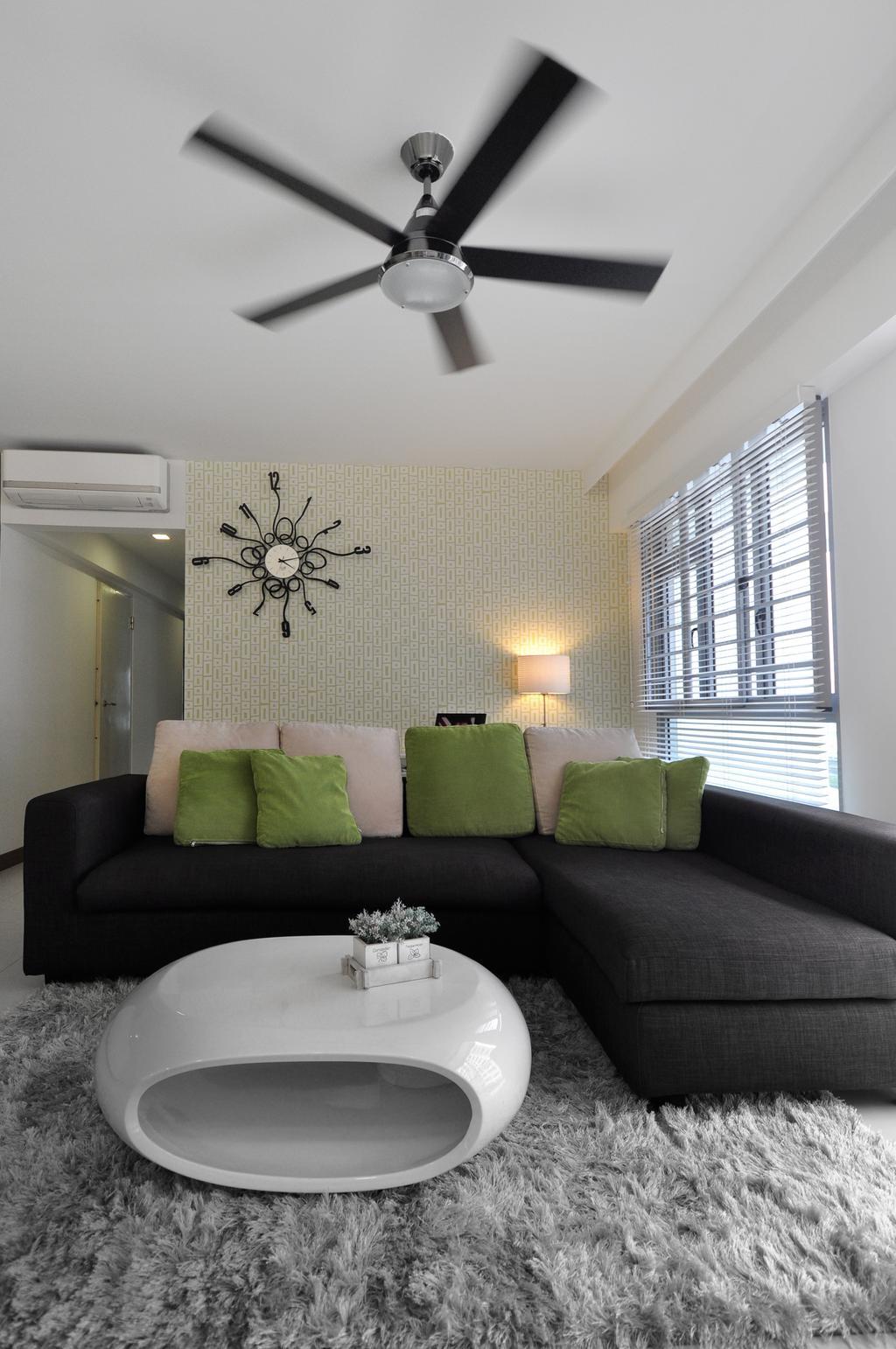 Modern, HDB, Punggol Walk (Block 272A), Interior Designer, The Roomakers, Couch, Furniture, Indoors, Interior Design