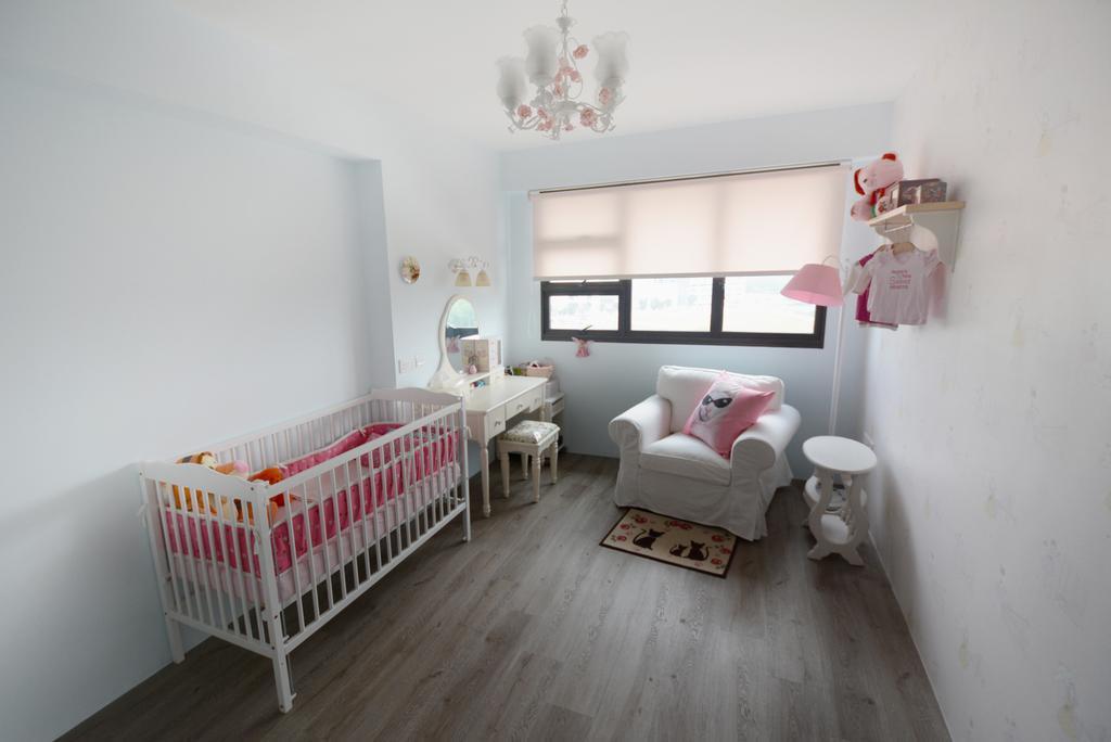 Eclectic, HDB, Bedroom, Yishun (Block 334B), Interior Designer, The Roomakers, Indoors, Nursery, Room, Interior Design