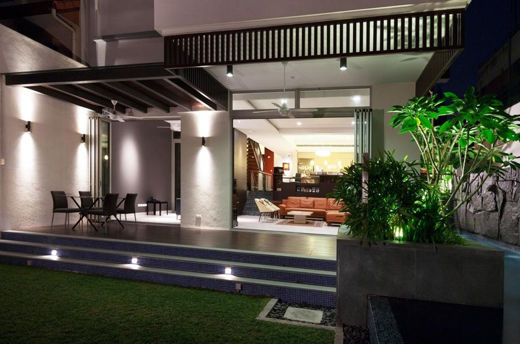 Transitional, Landed, Clementi Crescent, Architect, Timur Designs, Flora, Jar, Plant, Potted Plant, Pottery, Vase, Building, House, Housing, Villa, Dining Room, Indoors, Interior Design, Room
