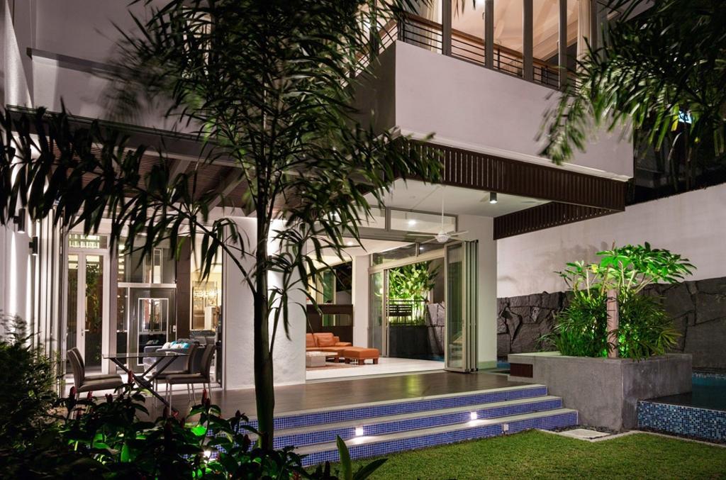 Transitional, Landed, Clementi Crescent, Architect, Timur Designs, Flora, Jar, Plant, Potted Plant, Pottery, Vase, Building, House, Housing, Villa