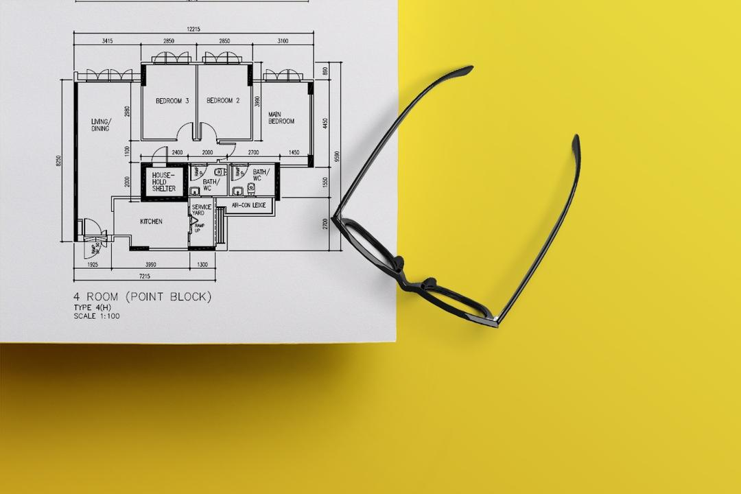 How To Read Your HDB Floor Plan In 10 Seconds 8