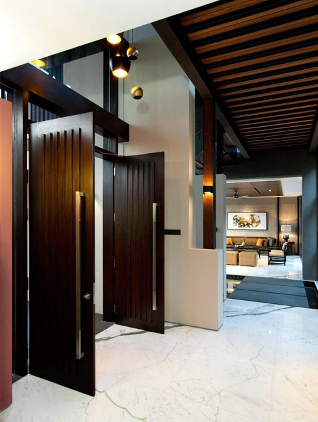 Traditional, Landed, Frankel Walk, Architect, Timur Designs, Electronics, Entertainment Center, Door, Folding Door