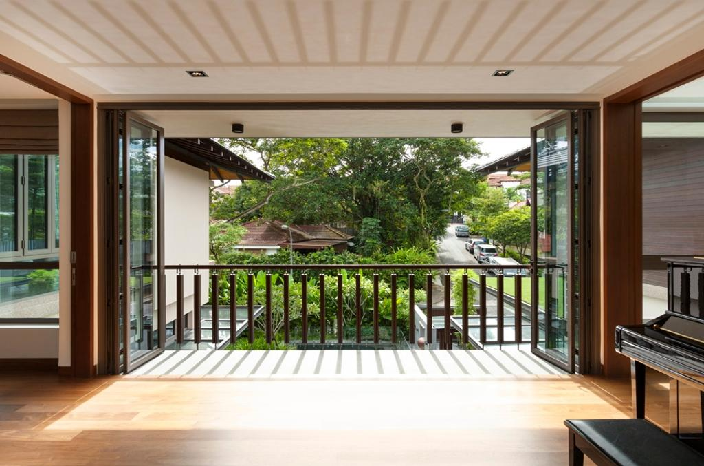 Contemporary, Landed, Kingsmead Road, Architect, Timur Designs, Door, Folding Door, Balcony