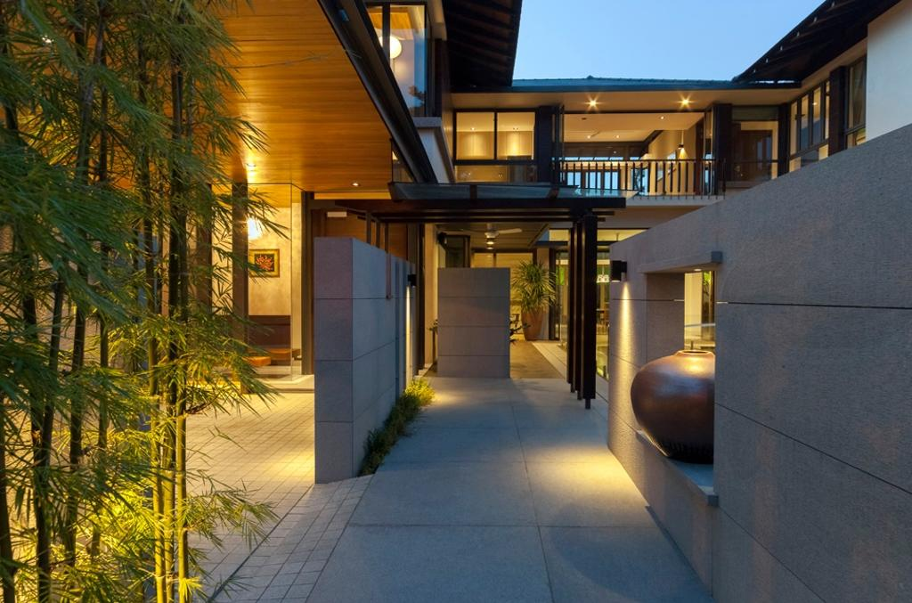 Contemporary, Landed, Kingsmead Road, Architect, Timur Designs, Jar, Pottery, Vase, Path, Walkway