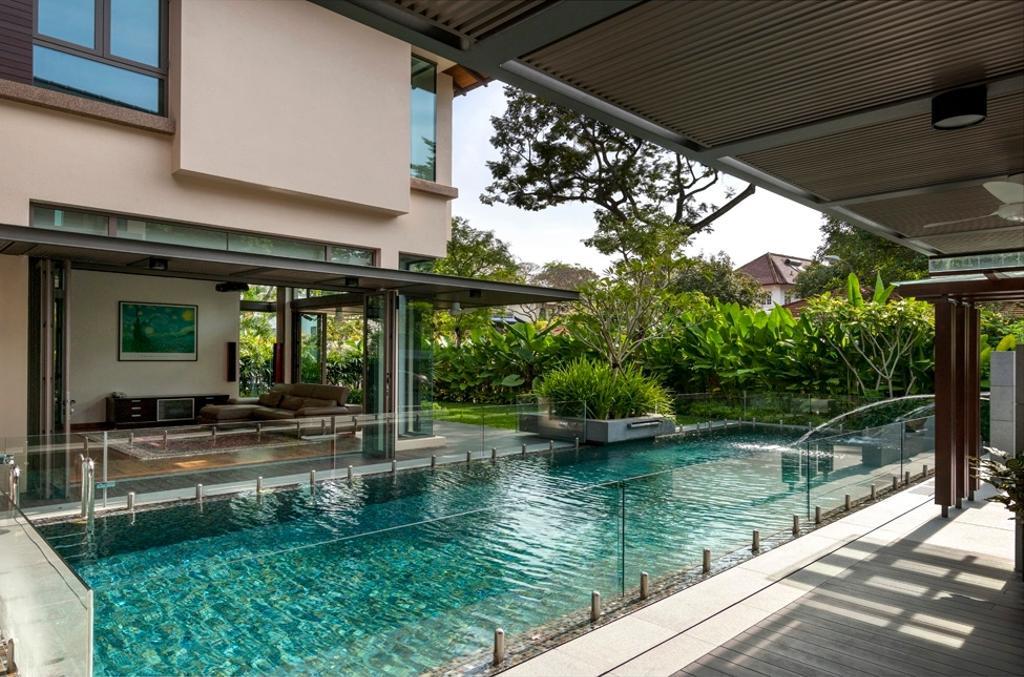 Contemporary, Landed, Kingsmead Road, Architect, Timur Designs, Porch, Architecture, Building, Skylight, Window, House, Housing, Villa