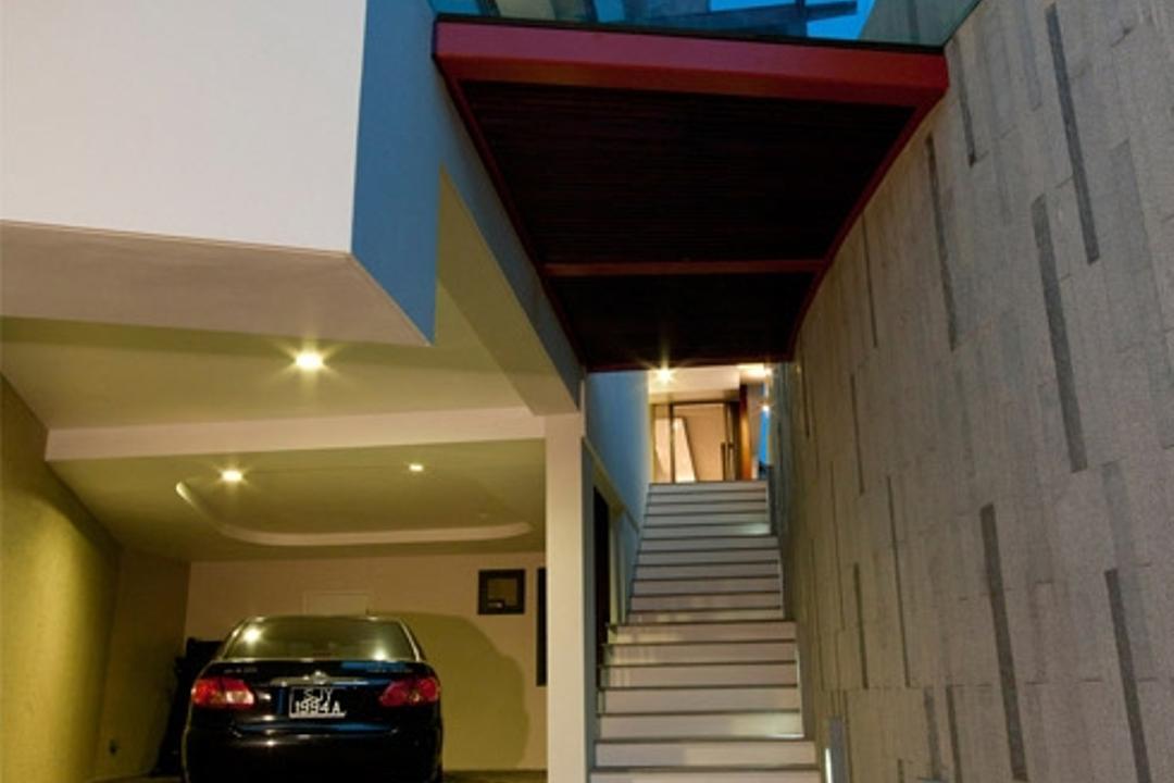 Lorong Pisang Emas, Timur Designs, Contemporary, Condo, License, License Plate, Text, Corridor