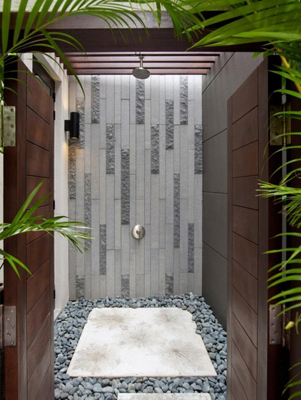 Contemporary, Condo, Bathroom, Lorong Pisang Emas, Architect, Timur Designs, Flora, Jar, Plant, Potted Plant, Pottery, Vase