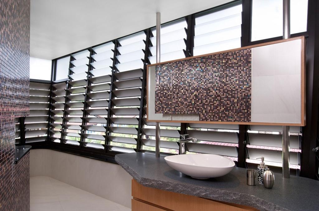Contemporary, Condo, Bathroom, Lorong Pisang Emas, Architect, Timur Designs, HDB, Building, Housing, Indoors, Loft