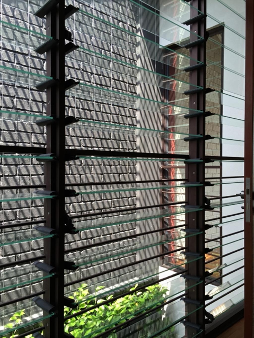 Contemporary, Landed, Lotus Avenue, Architect, Timur Designs, Railing