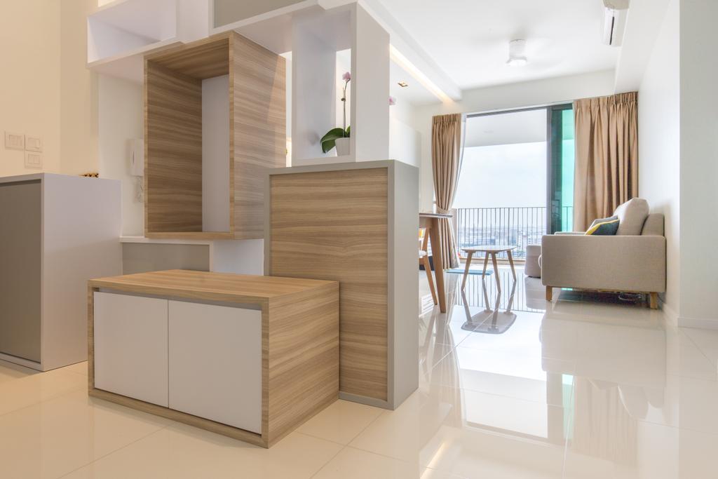 Minimalistic, Condo, Living Room, The Topiary, Interior Designer, Charlotte's Carpentry, Scandinavian, Chair, Furniture, Indoors, Interior Design