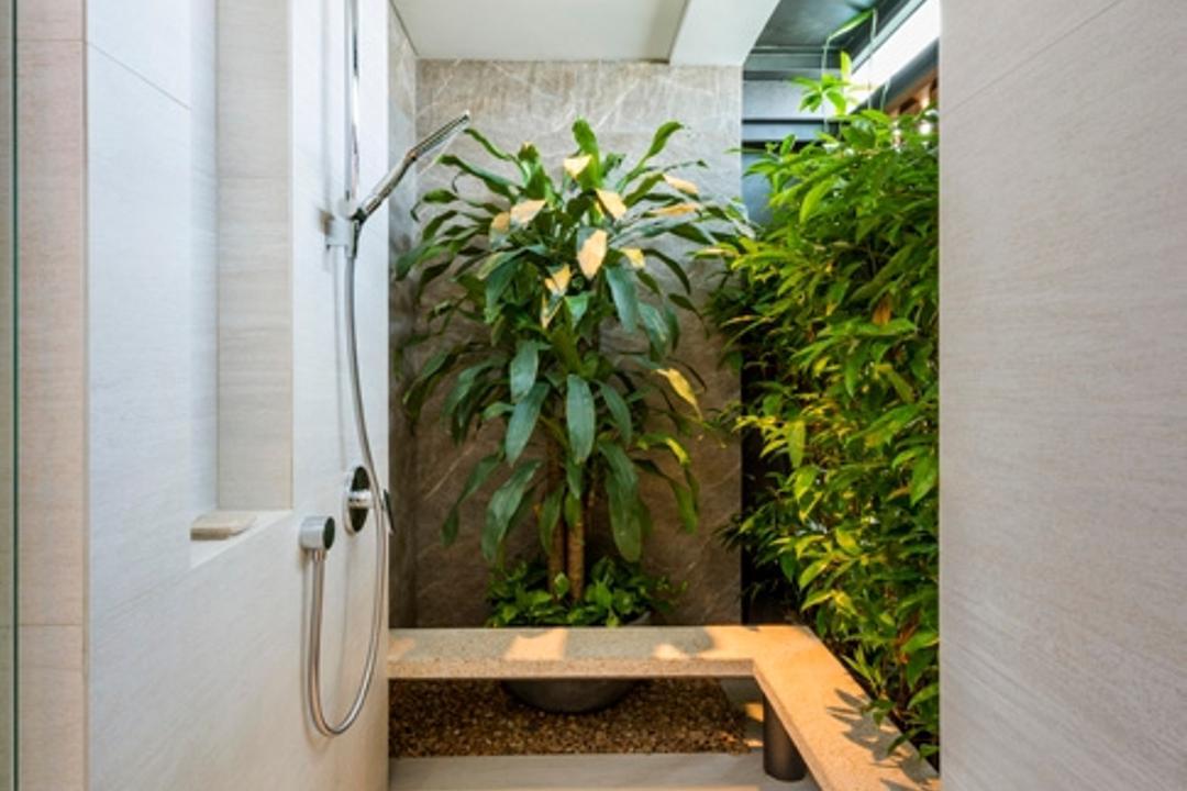 Pasir Ris, Timur Designs, Bathroom, Landed, Flora, Jar, Plant, Potted Plant, Pottery, Vase, Hemp, Appliance, Electrical Device, Oven