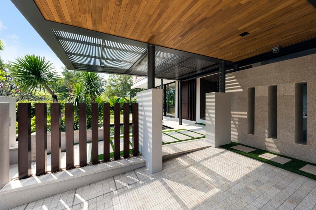 Pasir Ris, Timur Designs, Landed, Asphalt, Road, Tarmac, Zebra Crossing, Door, Folding Door