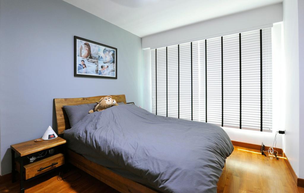 Scandinavian, HDB, Bedroom, Punggol Field (Block 662B), Interior Designer, Omni Design, Industrial
