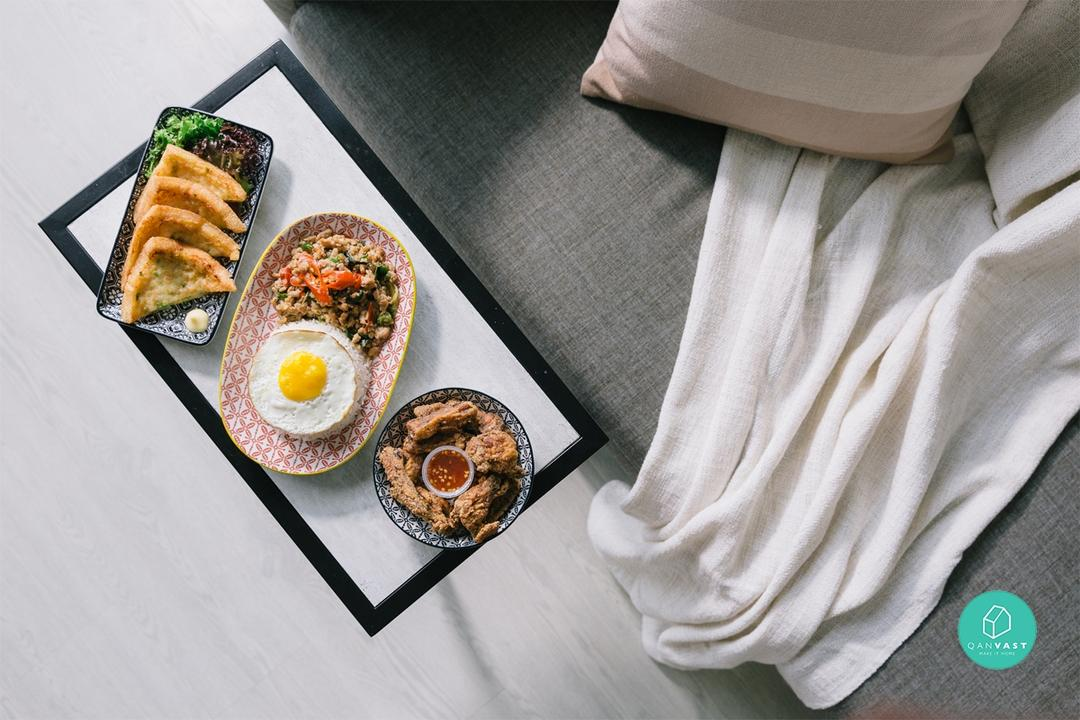 The Lazy Bum's Guide To Eating At Home