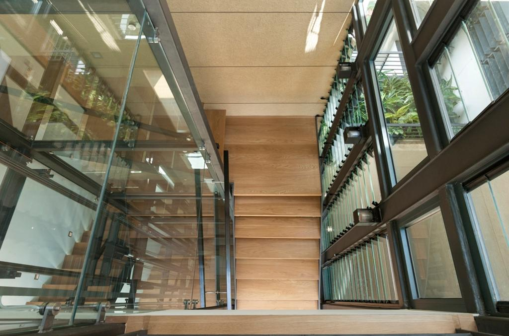 Modern, Landed, Siglap Avenue, Architect, Timur Designs, Architecture, Building, Skylight, Window, Banister, Handrail, Staircase