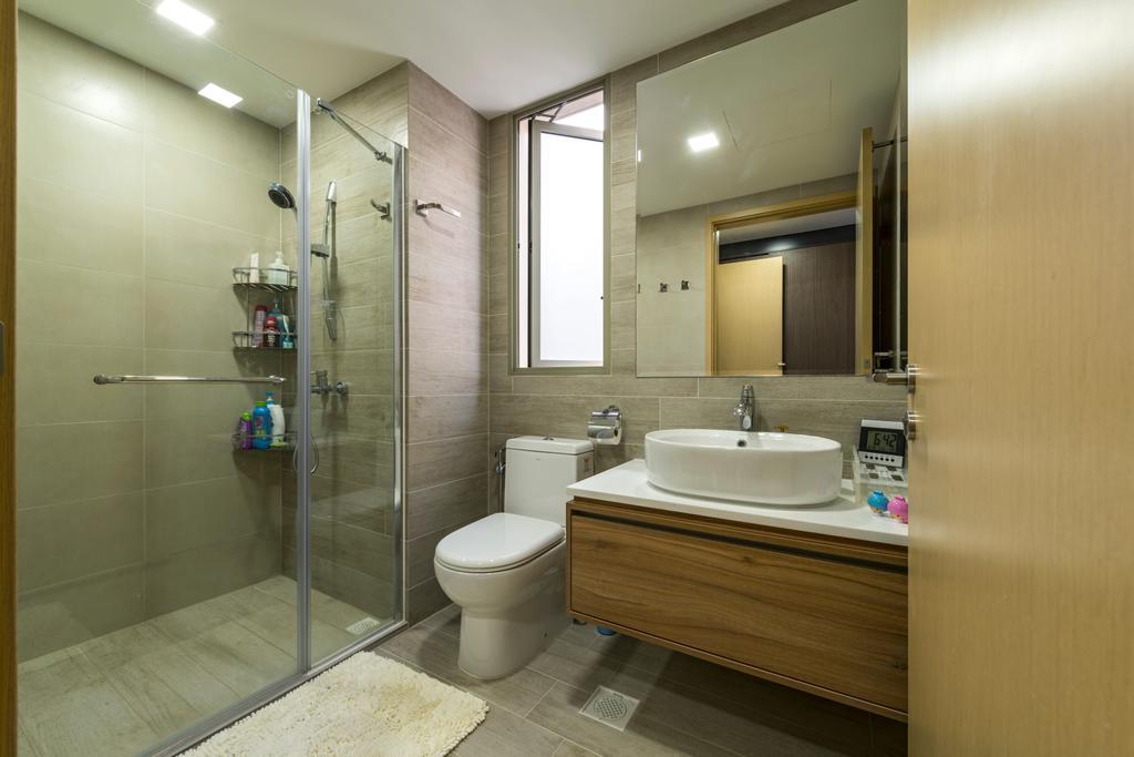 Contemporary, Condo, Bathroom, Sea Horizon, Interior Designer, VNA Design, Indoors, Interior Design, Room