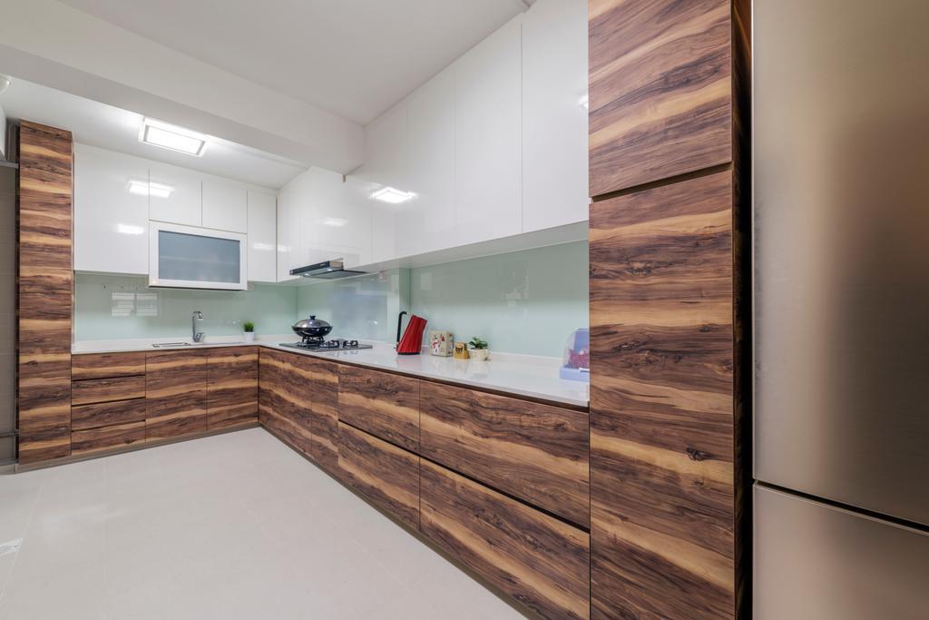 Scandinavian, HDB, Kitchen, Toa Payoh Lorong 8 (Block 215), Interior Designer, VNA Design, Eclectic, Indoors, Interior Design