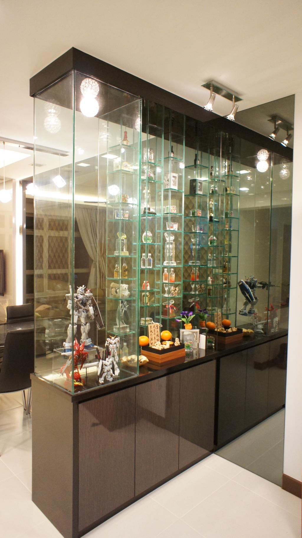 Traditional, HDB, Living Room, Rivervale Crescent (Block 180C), Interior Designer, INCLOVER DESIGN, Robot