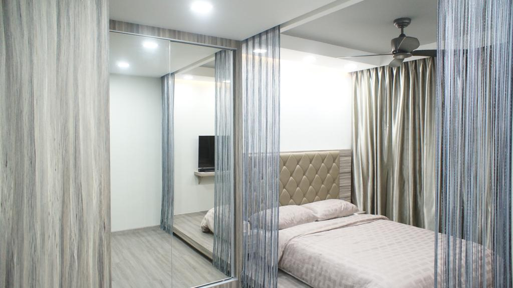 Contemporary, HDB, Bedroom, Choa Chu Kang Avenue 7 (Block 815B), Interior Designer, INCLOVER DESIGN