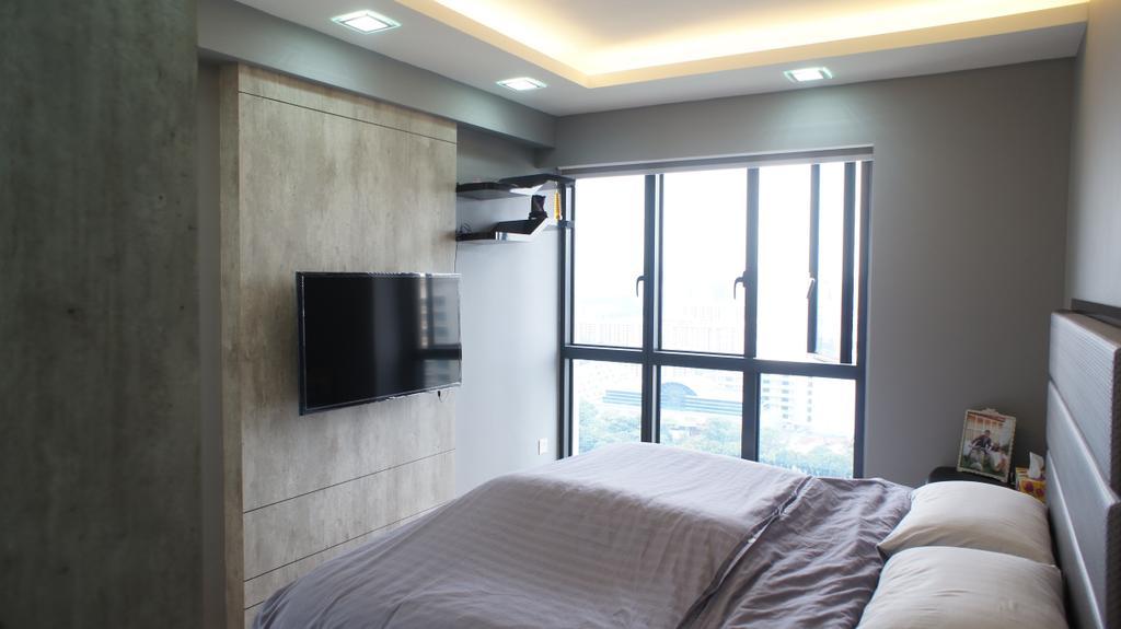 Contemporary, HDB, Bedroom, Dawson Road (Block 90), Interior Designer, INCLOVER DESIGN, Scandinavian