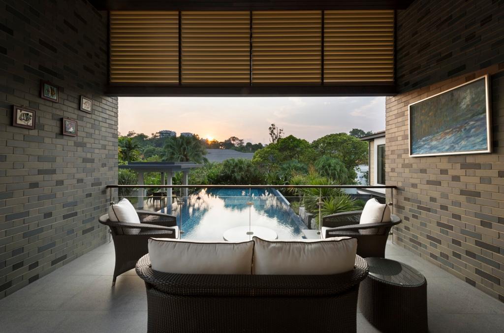 Modern, Landed, Swettenham Rd, Architect, Timur Designs, Jacuzzi, Tub, Toilet, Brick