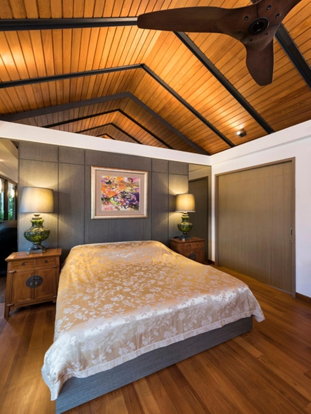Contemporary, Landed, Bedroom, Thomson View, Architect, Timur Designs, Jar, Pottery, Vase, Furniture, Sideboard, Lamp, Table Lamp, Indoors, Interior Design, Room