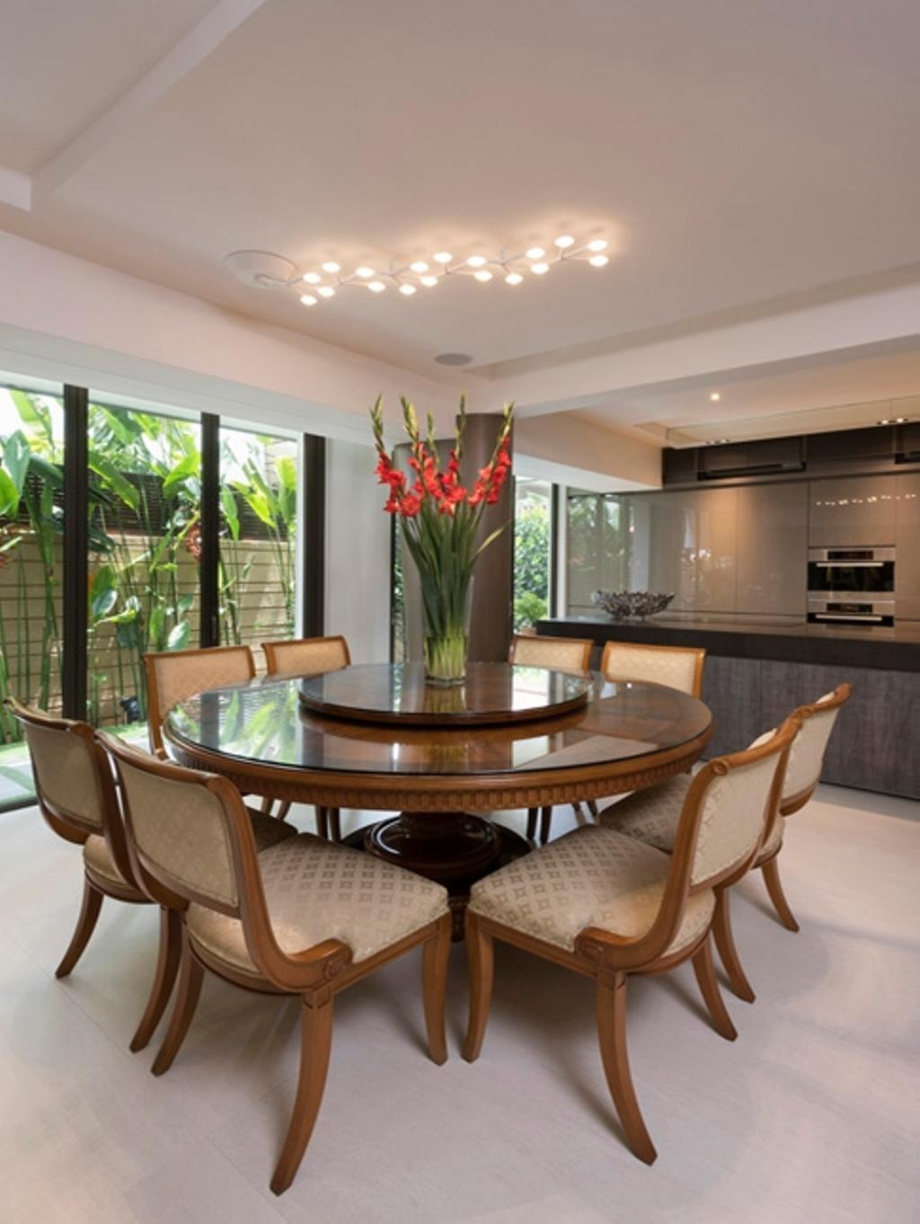 Contemporary, Landed, Dining Room, Thomson View, Architect, Timur Designs, Flora, Jar, Plant, Potted Plant, Pottery, Vase, Chair, Furniture, Indoors, Interior Design, Room, Dining Table, Table