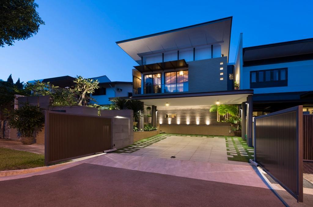 Contemporary, Landed, Thomson View, Architect, Timur Designs, Flora, Jar, Plant, Potted Plant, Pottery, Vase, Building, House, Housing, Villa