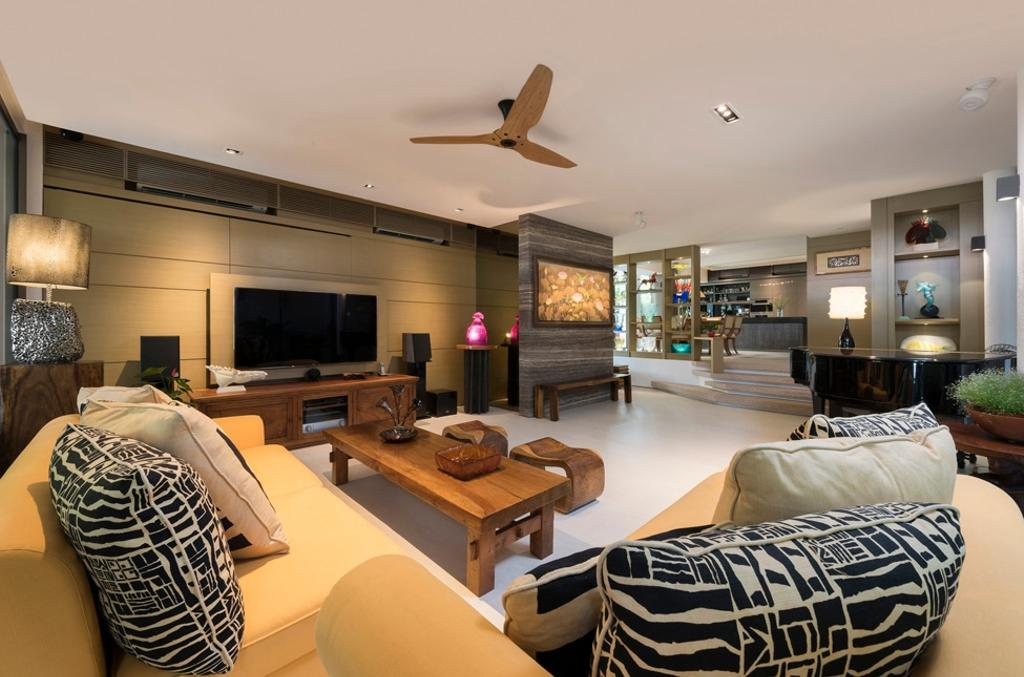 Contemporary, Landed, Living Room, Thomson View, Architect, Timur Designs, Couch, Furniture, Indoors, Room