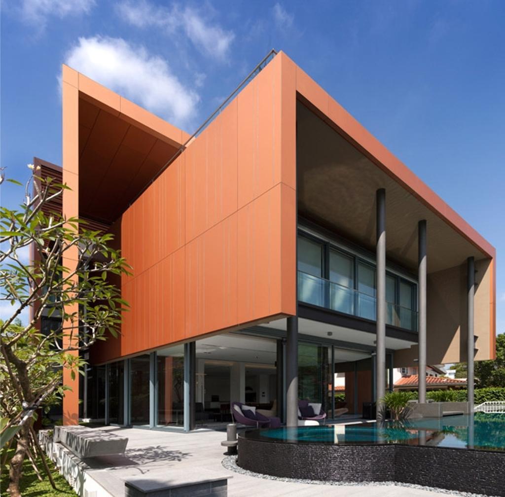 Modern, Landed, Trevose, Architect, Timur Designs, Flora, Jar, Plant, Potted Plant, Pottery, Vase, Door, Sliding Door