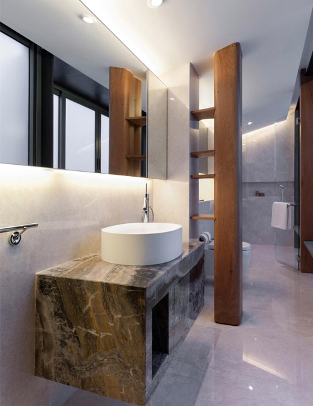 Modern, Landed, Trevose, Architect, Timur Designs, Bathroom, Indoors, Interior Design, Room