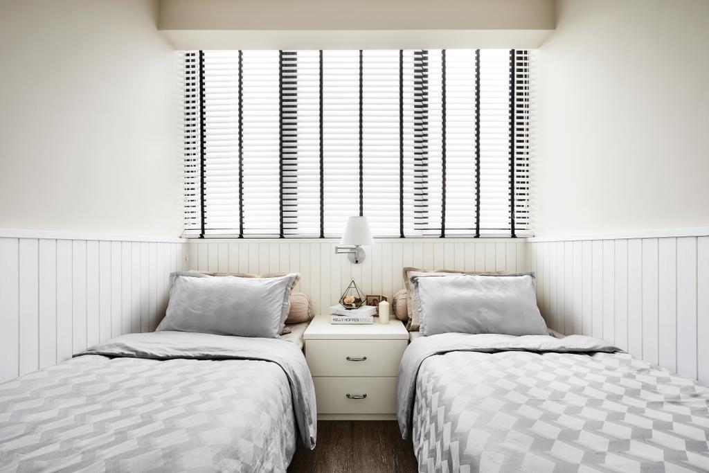 Contemporary, Condo, Bedroom, Waterbay, Interior Designer, Notion of W, Indoors, Interior Design, Room