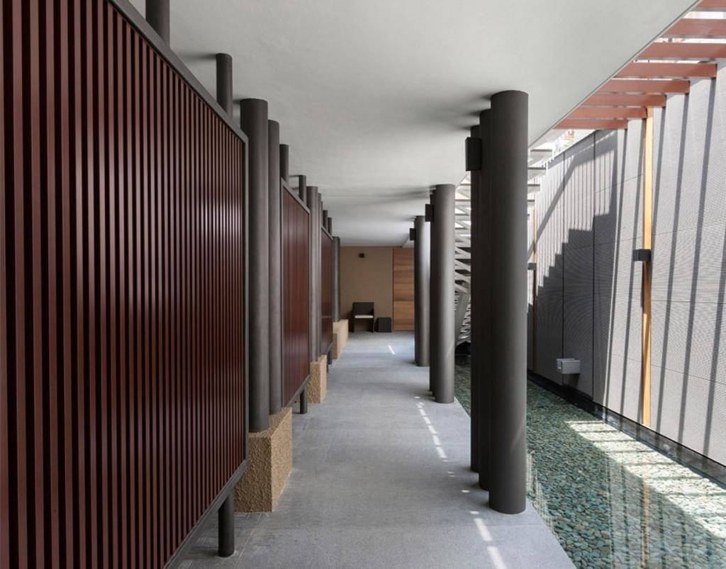 Modern, Landed, Trevose, Architect, Timur Designs, Corridor