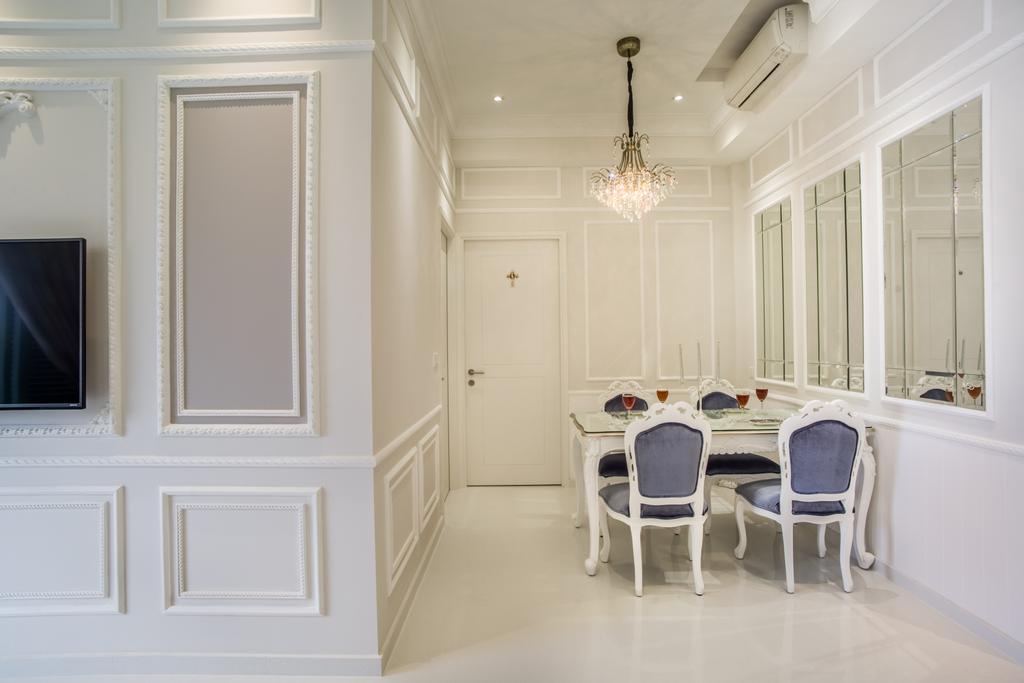 Vintage, Condo, Dining Room, The Quinn, Interior Designer, Urban Habitat Design, Chair, Furniture, Dining Table, Table, Indoors, Interior Design, Room