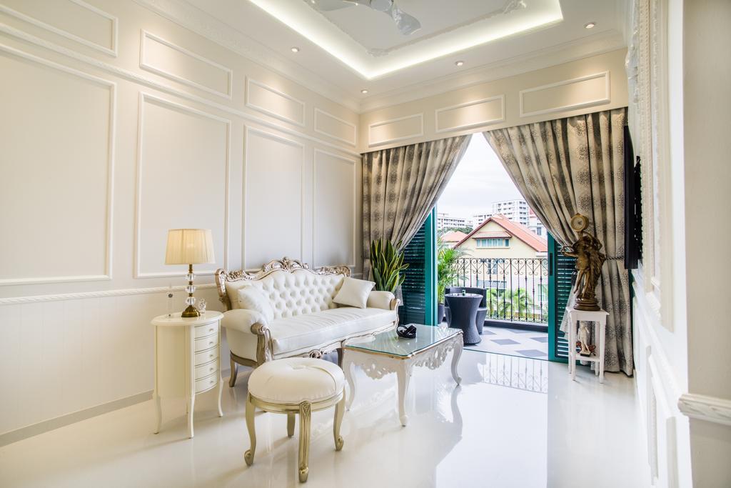 Vintage, Condo, Living Room, The Quinn, Interior Designer, Urban Habitat Design, Sink, Indoors, Interior Design, Furniture, Balcony