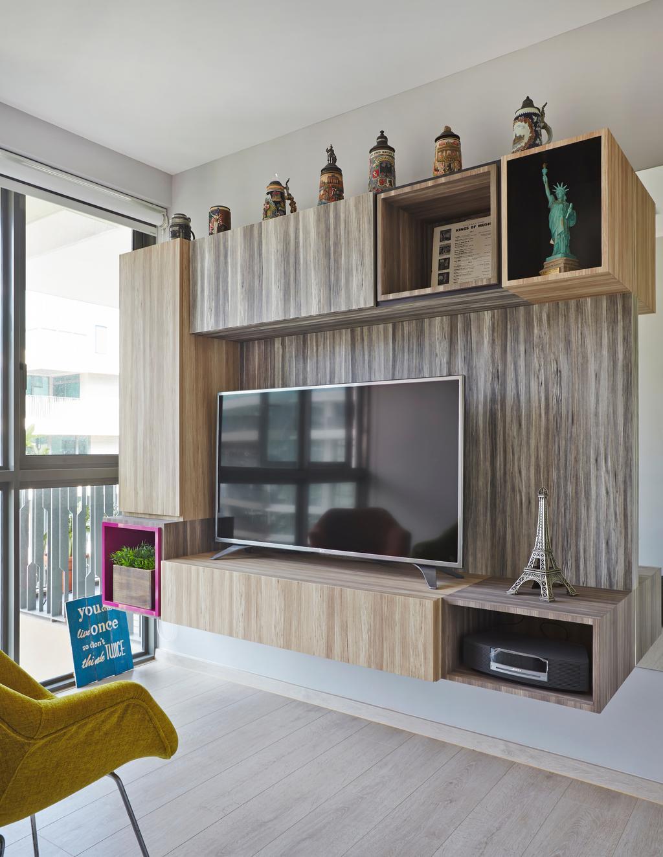 Eclectic, Condo, Living Room, The Topiary, Interior Designer, M3 Studio, Wood