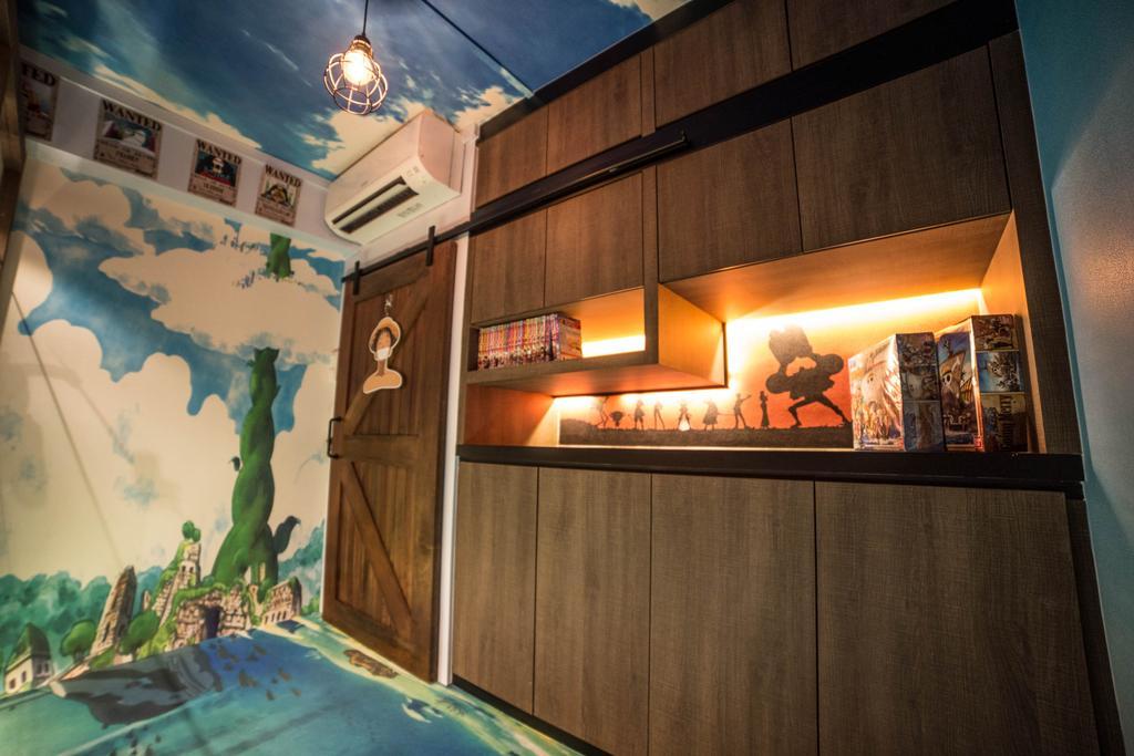 Eclectic, HDB, Bedroom, Marine Drive (Block 61), Interior Designer, MET Interior, Art, Art Gallery, Indoors, Interior Design