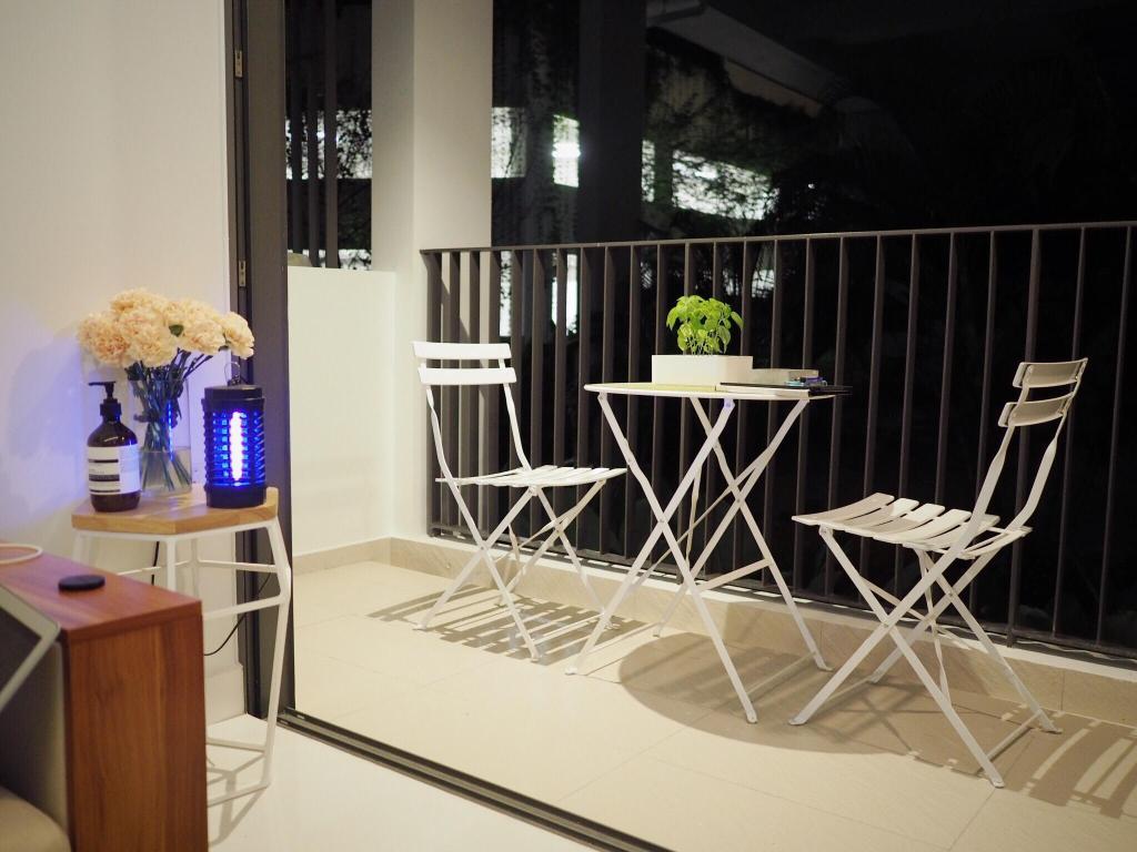 Minimalist, Condo, E Maison, Interior Designer, Lemonfridge Studio, Scandinavian, Chair, Furniture, Flora, Jar, Plant, Potted Plant, Pottery, Vase