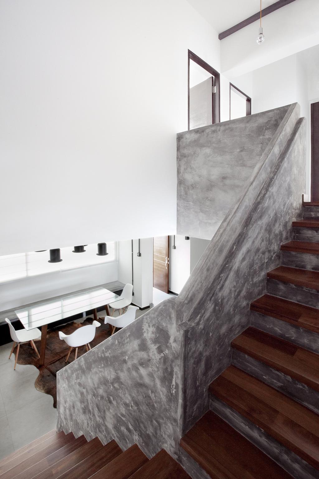 Industrial, HDB, Living Room, Jalan Rajah, Interior Designer, Free Space Intent, Building, Housing, Indoors, Loft